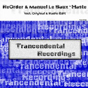 TDL002: ReOrder & Manuel Le Saux - Haste
