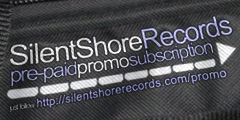 Silent Shore Records promo pre-paid